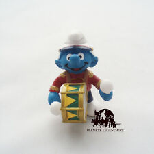 Figurine collection SCHTROUMPF Fanfare Tambour Smurf SCHLEICH Germany PEYO