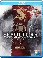 Sepultura/les Tambours du Bronx-METAL veins-Alive at rock in Rio BLU-RAY NUOVO