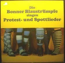 LP DIE BONNER BLUESTOCKINGS - cantare protesta- e canzoni satiriche