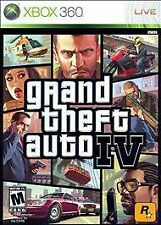 Grand Theft Auto IV GTA 4 GAME (Xbox 360)