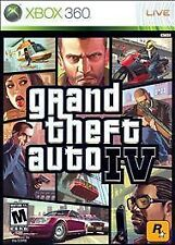 Grand Theft Auto IV 4 GTA GTA4 USED SEALED (Xbox 360) Free Shipping