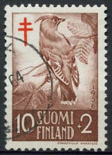 Finland 1956 SG#561, 10m Waxwing Bird Used #A93672