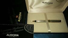 Aurora Optima biro solid sterling ballpoint