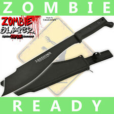 "15"" FULL TANG Zombie Slayer TAKEDOWN machete Survival Knife"