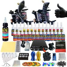 Solong Tattoo Complete Tattoo Starter Kit 2 Machine with 28 Colors Ink  TK204-25