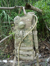 New MOLLE II Multicam Hydration System Carrier + 3L Bladder Bag Back Pack USGI