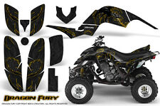 YAMAHA RAPTOR 660 GRAPHICS KIT CREATORX DECALS STICKERS DRAGON FURY YB