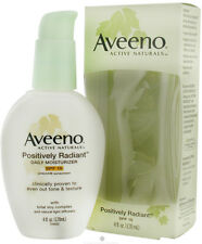 Aveeno Positively Radiant Skin Daily Moist,SPF 15, 4 oz