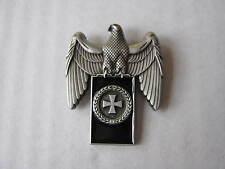 WH Reichsadler Eisernes Kreuz Lorbeerkranz Pin Anstecker Wehrmacht WXX WK2 WWII