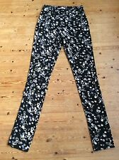 See by Chloe flower print leggings size 40 it, 8 Uk BNWT
