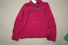NWT CATIMINI FUSCHIA PINK BELL SLEEVE EMBROIDERED TOP   5A 4- 5 108