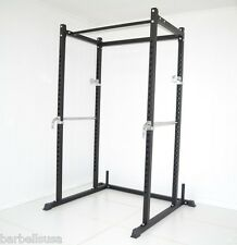 Power Squat Weight Rack Bench Cage Deadlift Racks NEW by Atlas