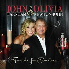 JOHN FARNHAM & OLIVIA NEWTON-JOHN FRIENDS FOR CHRISTMAS CD NEW