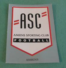 N°301 BADGE ECUSSON AMIENS SC ASC D2 PANINI FOOT 97 FOOTBALL 1996-1997