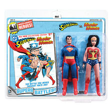 DC Comics Mego Style 8 Inch Retro Figure Two-Packs: Superman VS. Wonder Woman