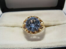 Exquisiter Damenring Ring Echtstein 4,5 ct GOLD 585 Brillantschliff