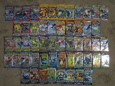 Pokemon 54 Booster Packs. Complete X & Y XY era. Base-Evolutions with Dbl crisis