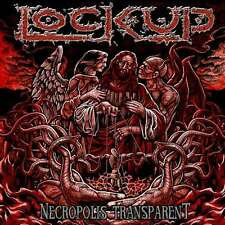 LOCK UP-NECROPOLIS TRANSPARENT-CD-napalm death-at the gates-terrorizer-grindcore