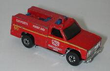 Blackwall Hotwheels Emergency Squad oc14378