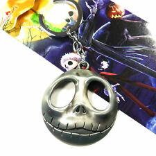 "Nightmare Before Christmas Jack Head 5cm/2"" Metal Key Ring Chain"