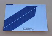 NX Certificat autocollant chevrolet corvette Le mans 1960 pour socle Heco 1/43