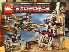 LEGO Exo-Force Fight for the Golden Tower 8107 Open Box, Inner Packaging Intact