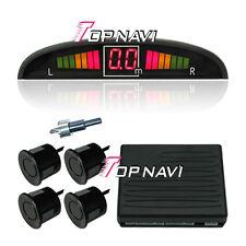 Car LED digital Display BIBI color Parking Sensor Reversing Backup 4 Radar Alarm