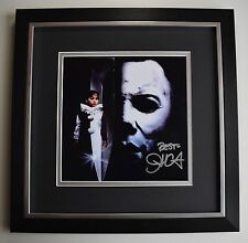 John Carpenter SIGNED Framed LARGE Square Photo Autograph display Halloween Film