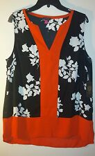 VINCE CAMUTO NWT WOMENS PLACKET FRONT TUNIC BLOUSE SIZE MEDIUM