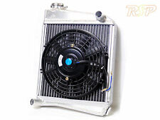 Classic Austin Mini Aluminium Radiator & Fan Core Size 285 x 260 x 42mm