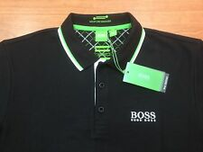 Men's Hugo Boss Green label Polo Shirt Paddy Pro-EDITION,BLACK,Size-3XL/XXXL.