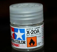 TAMIYA COLOR X-20A Thinner Model ACRYLIC PAINT 10ml Free Shipping