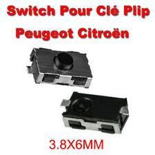 LOT 2 Switch bouton Clé Télécommande Plip Peugeot 106 206 207 306 307 406
