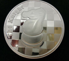 SILVER ROUND - LIMITED TO 300 PIECES - 1 TROY OZ - CHESS KNIGHT