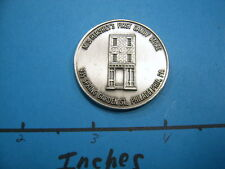 HERSHEY 1ST CANDY STORE PHILADELPHIA MILTON HERSHEY 1983 VINTAGE 999 SILVER COIN