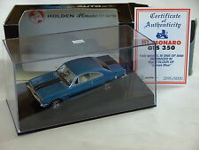 Autoart 1/43 Holden Monaro HT GTS 350 v8 1969 azul biante australia Commodore a