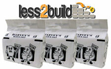 3 x BAGS OF HARVEYS BLOCK SALT FOR WATER SOFTENERS EXPRESS UK DELIVERY