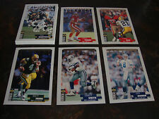 1996 Collector's Choice Football---Post-Season Heroics---Complete Silver Set--NM
