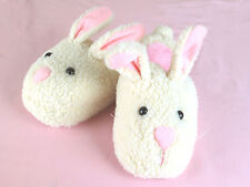 Women's Bunny Slippers - Adult Size Small - Fits Women 5-7.5