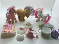 VINTAGE MY LITTLE PONY MLP TOY ACCESSORIES LOT