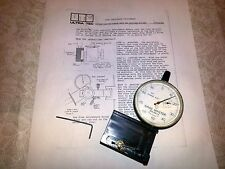 ULTRA TEC CUTTING DIAL FOR LEFT MAST MACHINE WITH INSTRUCTIONS LAPIDARY FACETING