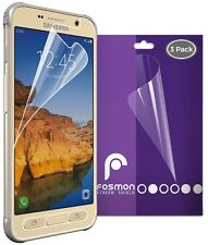 Fosmon 3x Thin HD Clear Tough Screen Protector Film for Samsung Galaxy S7 Active