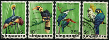 Singapore 1976 SG#260-3 Birds Used Set #D34857