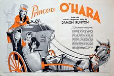 PRINCESS O'HARA 1935 Jean Parker, Chester Morris, Leon Errol TRADE ADVERT