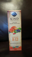 Garden of Life Kind Organics  B-12  Vegan Methylcobalamin  140 Servings vegan