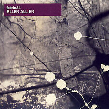 Fabric 34 by Ellen Allien (CD, May-2007, Fabric (Label))
