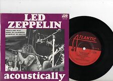 LED ZEPPELIN EP PS Acoustically AUSTRALIA very rare EPA228 TOP CONDITION Aussie!