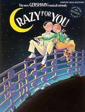 Crazy for You: Complete Vocal Selections,GOOD Book