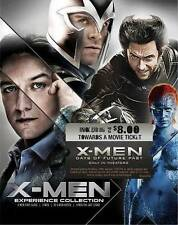 X-MEN EXPERIENCE COLLECTION DVD X2 FIRST CLASS LAST STAND