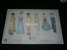 """Original 1889-1989 100 YEARS OF OREGON FASHION EVEN POSTER Large 20 5/8 X30 1/2"""""""